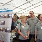 Photo:Our Newhaven with Carol, Laurie and Andy