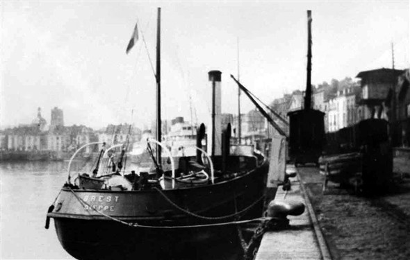 Photo:Cargo vessel SS Brest of 1900 - lost in 1940