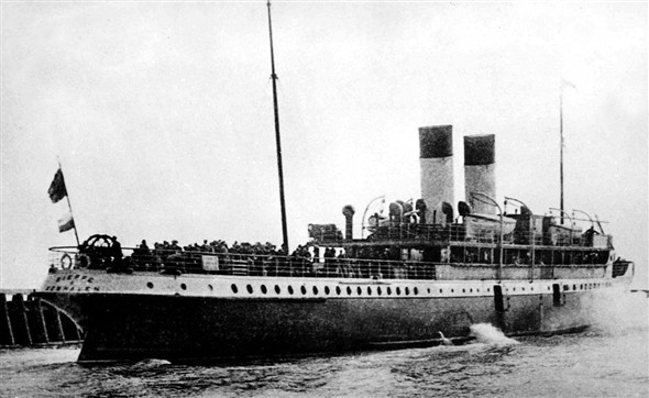 Photo:SS Dieppe of LBSCR built 1905