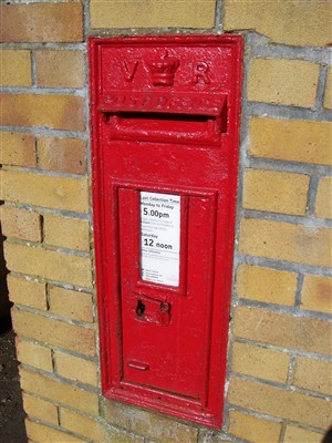 Photo: Illustrative image for the 'VICTORIAN POST BOX' page