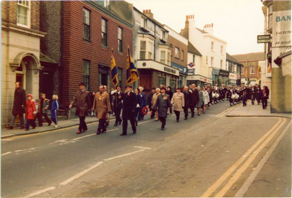 Photo:Rememberance day c1972