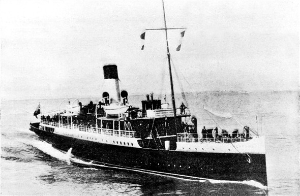 Photo:SS Seaford of LBSCR built 1894