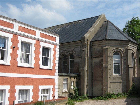 Photo:OLD CHAPEL AND CHURCH HILL LODGE