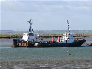 Photo:January 2008. Lying at Queenborough with Nore Commodore