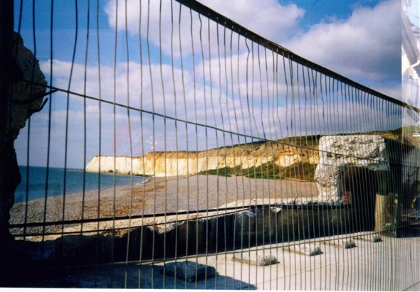 Photo:Breakwater Arches Broken - 2002