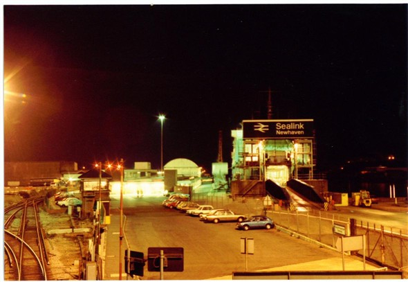 Photo:VIEW FROM HARBOUR STATION FOOTBRIDGE 1983