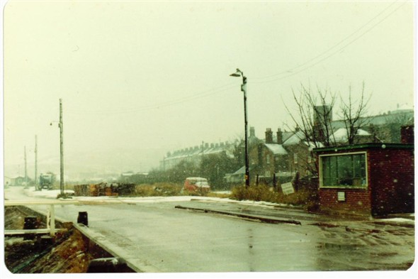 Photo:WEST QUAY - WEIGHBRIDGE STILL OPERATING December 1981