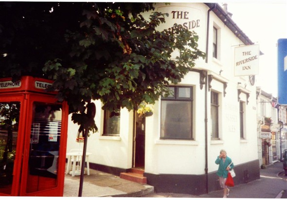 Photo:THE RIVERSIDE INN ,WAS THE CROWN,NOW PHILIP MANN