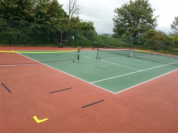 Photo:4 mini Tennis courts