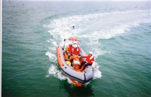 Photo:Smaller vessel used to gain access to coves and shallow waters along the coast