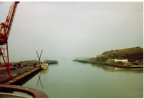 Photo:The Harbour entrance - 1989