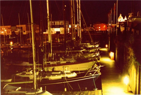 Photo:BOATS IN THE HARBOUR 1983