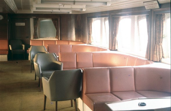 Photo:Forward seating area