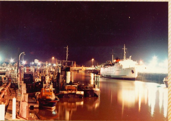 Photo:HARBOUR AT NIGHT 1983
