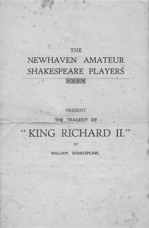 Photo: Illustrative image for the 'NEWHAVEN AMATEUR SHAKESPEARE PLAYERS' page