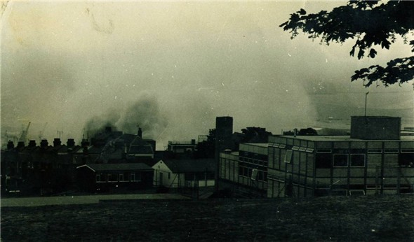 Photo:View from Southdown School - 1976