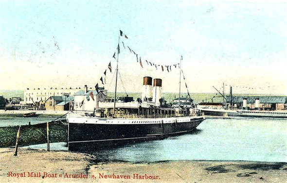 Photo:SS Arundel of the LBSCR built 1900