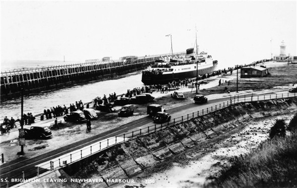 Photo:Brighton Leaving / Fort Moat - c1960