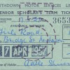 Page link: SCHOOL BUS PASS  1957