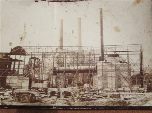 Photo: Illustrative image for the 'BUILDING THE CEMENT WORKS' page