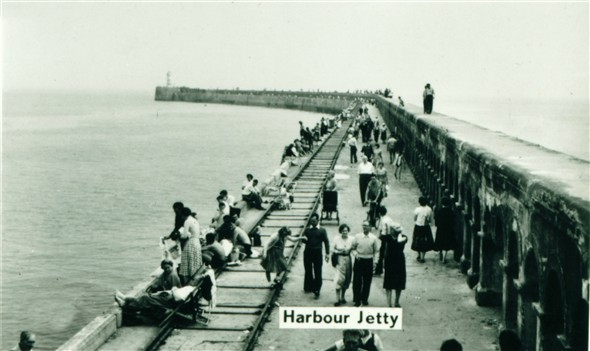 Photo:Breakwater - c1950