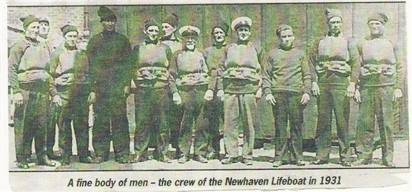 Photo: Illustrative image for the 'LIFEBOAT CREW' page