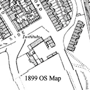 Photo:Section of 1899 OS map