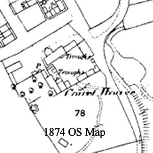Photo:Section of 1874 OS Map