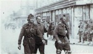 Photo:POW's at Dieppe - 1942