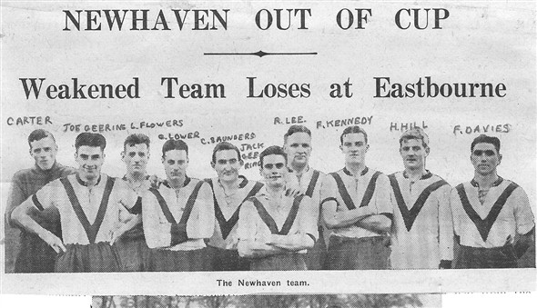 Photo: Illustrative image for the 'NEWHAVEN FOOTBALL TEAM' page