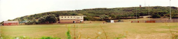 Photo:PANORAMIC VIEW FROM BOWLS GREEN 1994