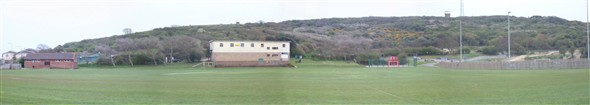 Photo:PANORAMIC VIEW FROM BOWLS GREEN 2008