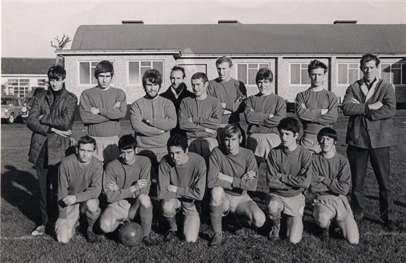 Photo: Illustrative image for the 'BRITISH RAIL FOOTBALL TEAM' page