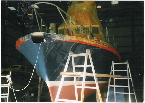 Photo: Illustrative image for the 'REPAIR OF THE NEWHAVEN LIFEBOAT' page