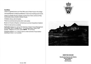 Photo:WRVS Pamphlet 1984 (Outer)