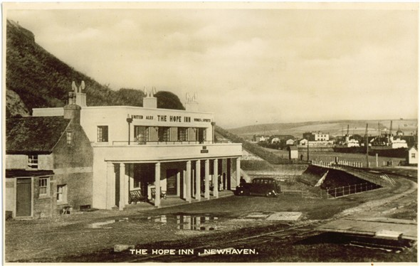 Photo:Hope Inn - 1950