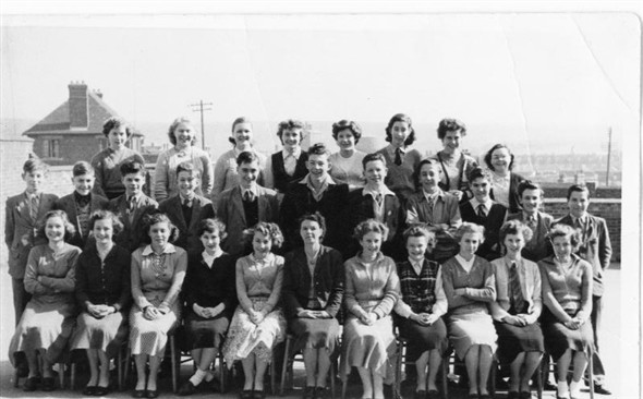 Photo:Class photo - 1954