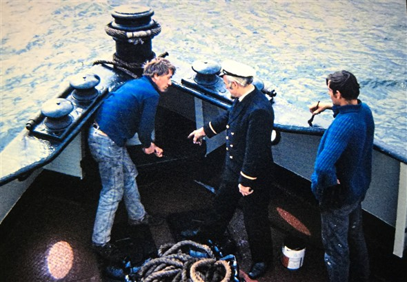 Photo: Illustrative image for the 'MORE MEMORIES OF THE TUG MEECHING' page