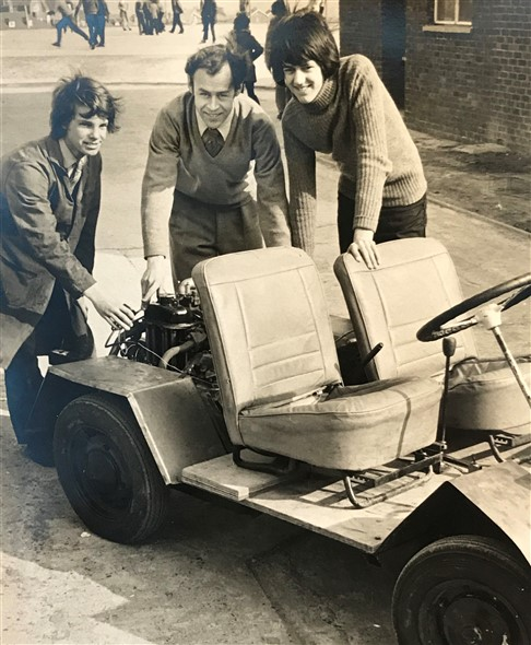 Photo:1974 BP Build a car project