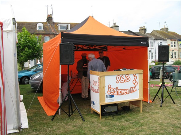 Saturday 2 june west quay lawns fish festival 2012 for The fish radio station