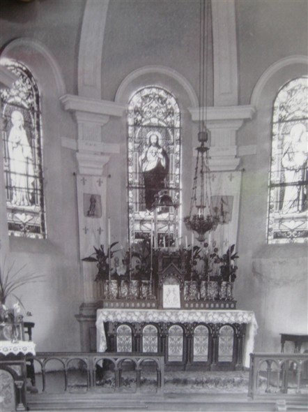Photo:Chapel Interior - 1926
