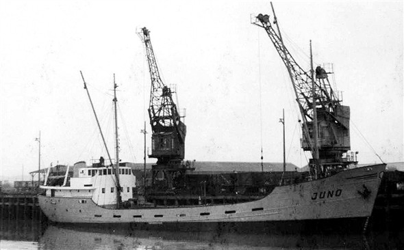 Photo:Juno owned by Wijnne built 1957 and of 400 gross tons
