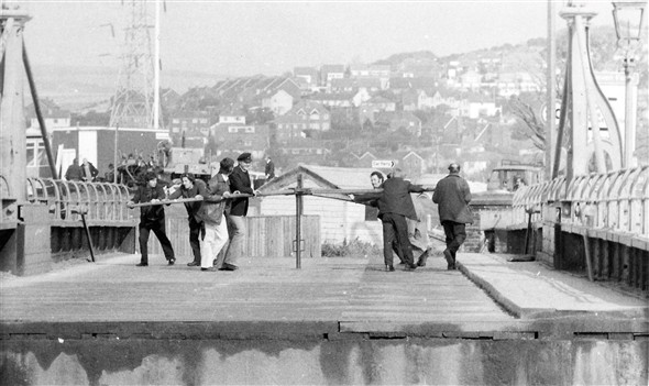 Photo:Last time bridge was opened