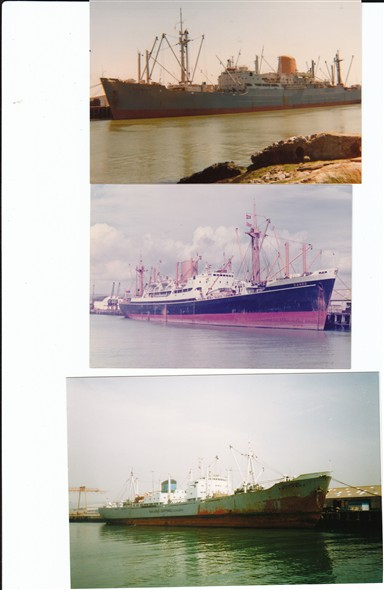 Photo: Illustrative image for the 'FREIGHTERS IN PORT' page