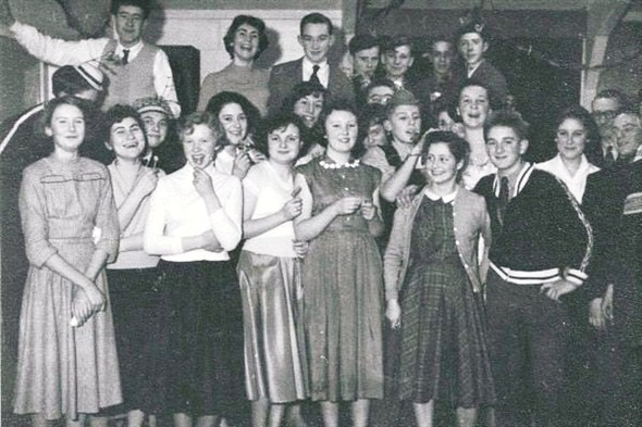 Photo:House prefects christmas party - 1956