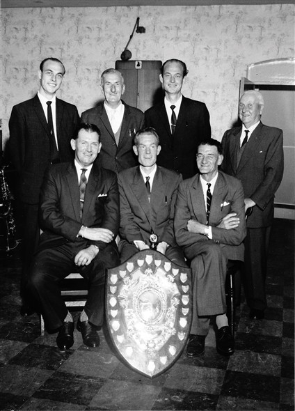 Photo:Newhaven |Labour Club bowls team.