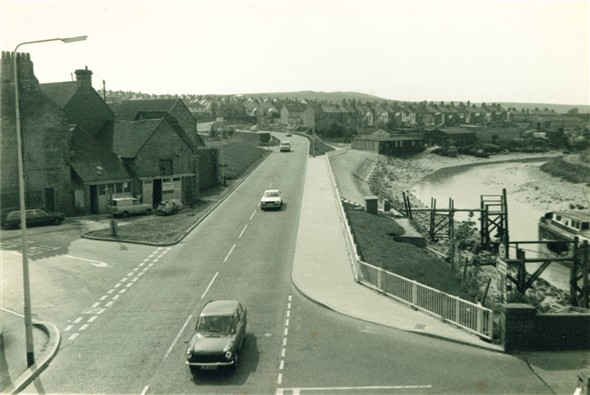 Photo:North Way - 1977