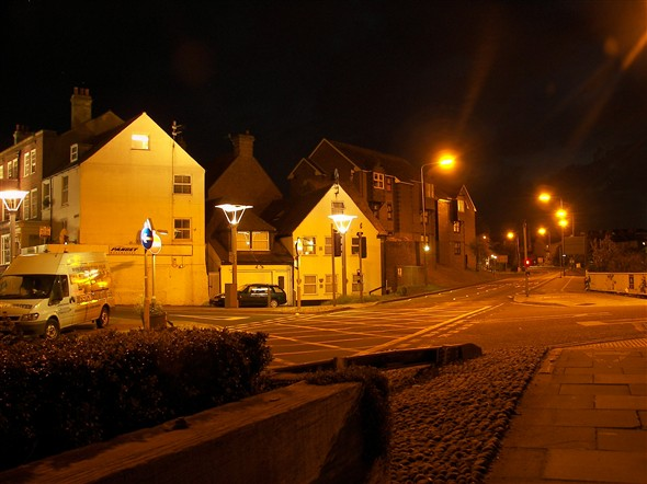 Photo:NORTH WAY LOOKING BACK AT NIGHT - 2008