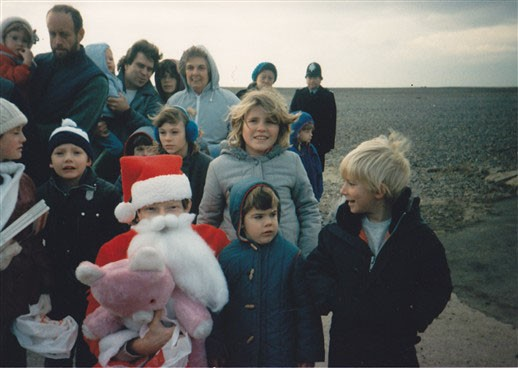 Photo: Illustrative image for the 'SANTA VISITS NEWHAVEN' page
