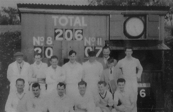 Photo:Newhaven 2nd XI Cricket Team - 1959